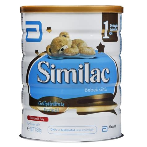 Similac Gain Plus 3 850 Gr similac 1 bebek s 252 t 252 850 gr fiyat