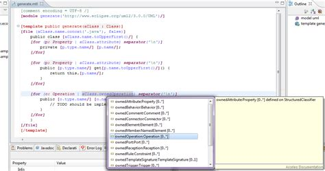 eclipse layout editor java acceleo getting started eclipsepedia