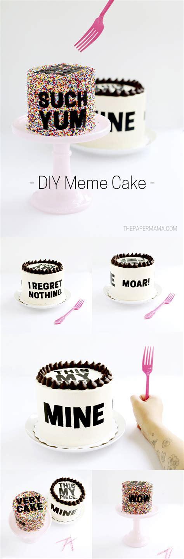 Diy Meme - diy meme cakes with free printables