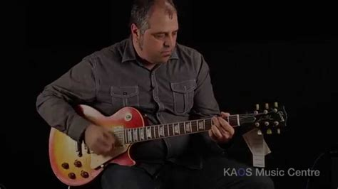 Kaos Guitarist kaos gear demo nash guitars lp 60 les paul conversion