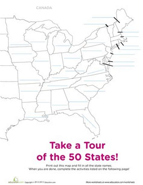map of the united states handout 41 best unschooling geography images on pinterest