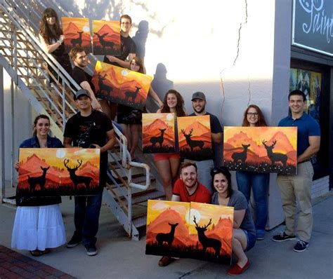 paint with a twist couples painting date search couples class