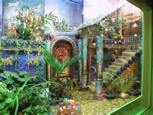 The hanging gardens of babylon model the hanging gardens of babylon