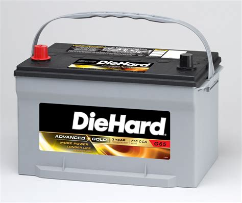 DieHard Gold AGM Automotive Battery   Group Size EP 65