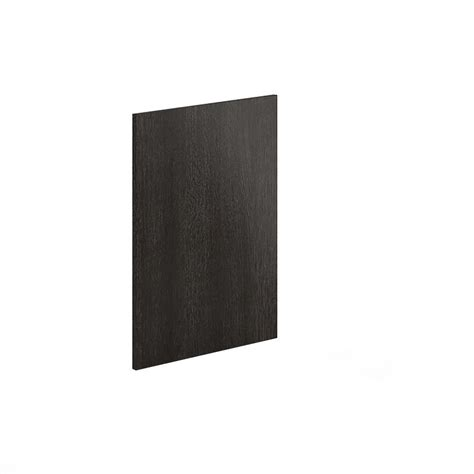 cutting kitchen cabinet end panels eurostyle 24x34 5x0 75 in dishwasher end panel in steel