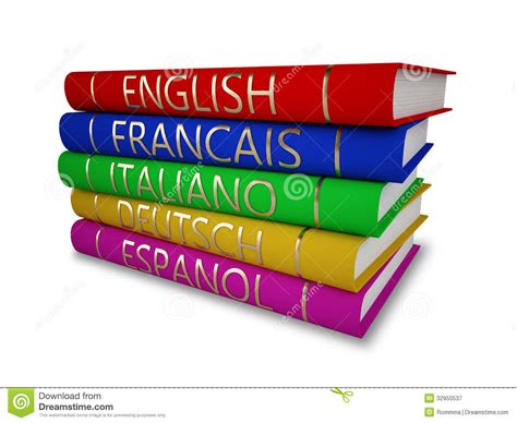learning books language books royalty free stock photography image