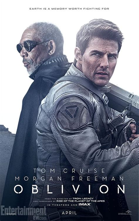 film tom cruise oblivion oblivion 2 affiches avec tom cruise et morgan freeman