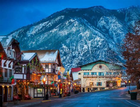 leavenworth christmas lighting festival northwest photo of the week leavenworth washington s