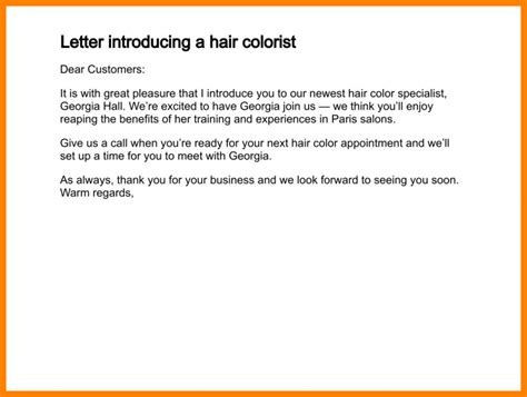 Introduction Letter Via Email 9 Sle Of Self Introduction Email To Colleagues Introduction Letter