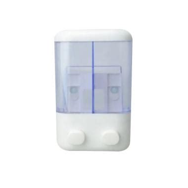 Tempat Sabun Cair Stainless Dispenser Soap Shoo Dinding jual gogo model 2 in 1 soap dispenser tempat sabun cair biru transparant harga