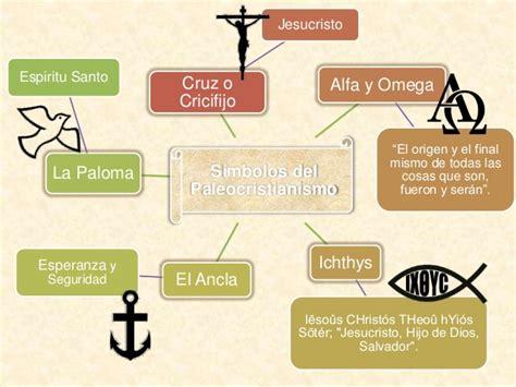 imagenes y simbolos en el arte simbolos del arte paleocristiano