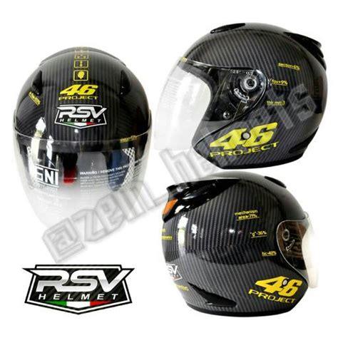 desain helm vr46 jual helm half face vr46 project zein helmets tokopedia