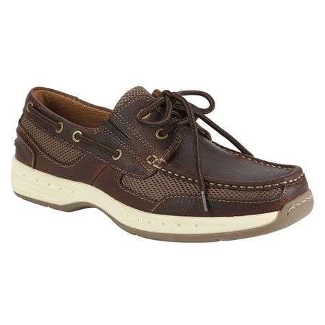 boat shoes online shopping thom mcan men s mooring leather boat shoe brown shop
