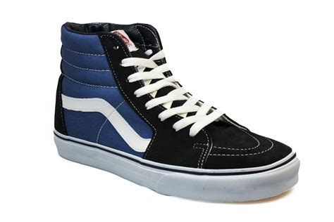 vans hi top mens womens suede leather skate sneakers
