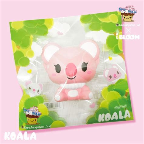 Koala Ibloom By Supa Squishy Shop kawaii i bloom ibloom x squishyshop ind koala squishy