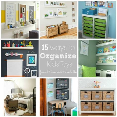 how to organize kids rooms clean and scentsible