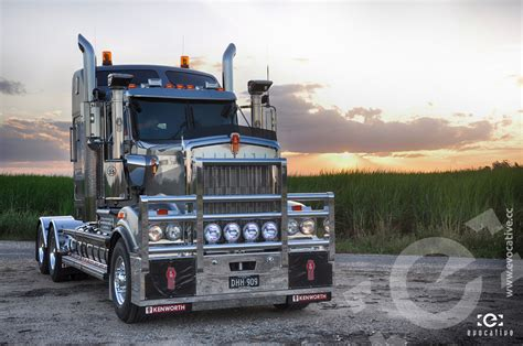 kenworth k series kenworth t909 director series photoshoot evocative