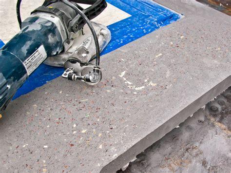 Terrazzo Concrete Countertops by Four Cut Clear Cheng Concrete Exchange