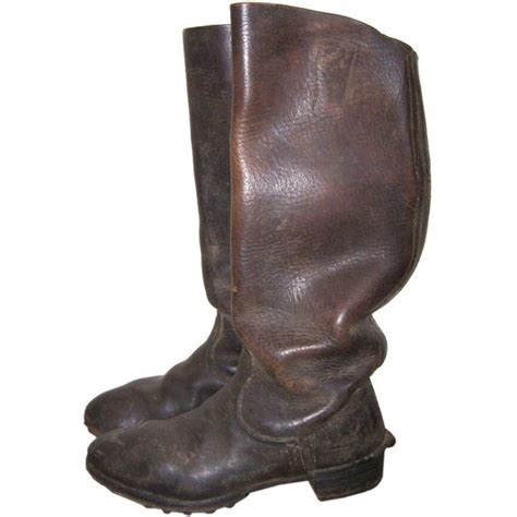 ww2 boots ww2 german brown combat boots boots shoes