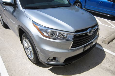 Toyota Paint Protection Modern Armor 2016 Toyota Highlander Limited Hybrid Clear Bra