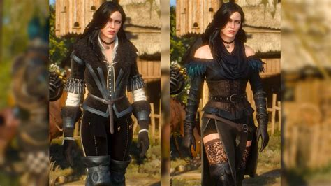 Witcher 3 Yennefer Alternate Look | yennefer original alternative look dlc geralt meets
