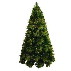 6 5 pre lit artificial christmas tree gold tipped