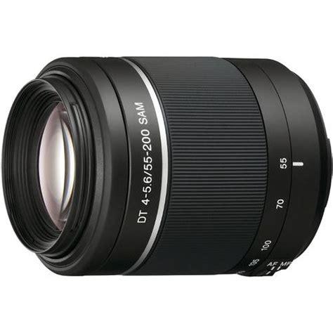 Sony Sal 55 200mm F 4 5 6 Dt sony dt 55 200mm f 4 5 6 sam lens sal55200 2 b h photo