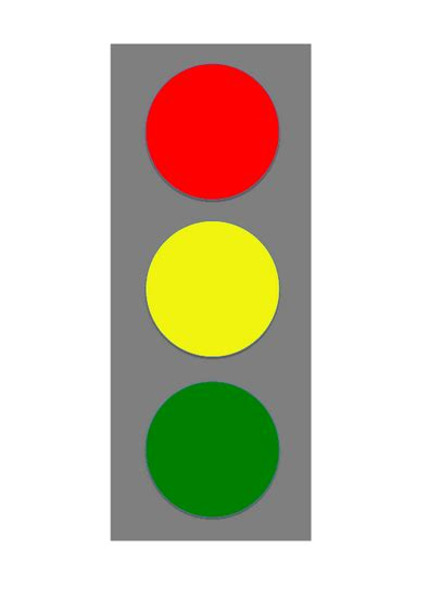 traffic light template 8 best images of stop light behavior chart template stop