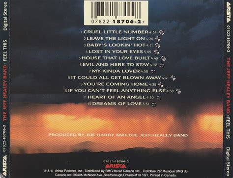 card cds feel this cd tray card the official jeff healey site