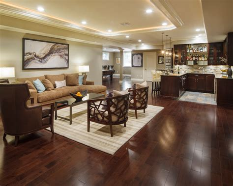 basement designs modern marvel traditional basement new york by