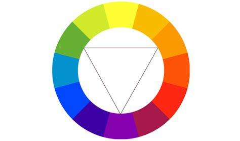 triadic color web design and color theory free templates