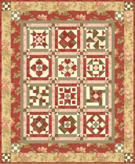 Patchwork On Central - vfhq block of the month