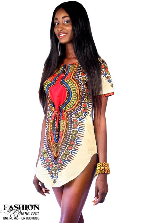 Style Angelinas Shirt by Dashiki Print T Shirt Dress Fashionghana