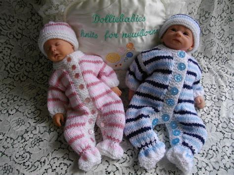 micro preemie knitting patterns dolliebabies