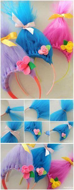 C634 Suki Rainbow Dress Pony Pink poppy inspired troll headband tul la pelicula y diversi 243 n