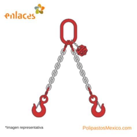 cadenas eslingas eslinga de cadena 2 ramales polipastos m 233 xico