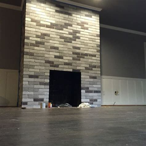 my after fireplace project painted each brick with leftover wall ceiling paint fireplace