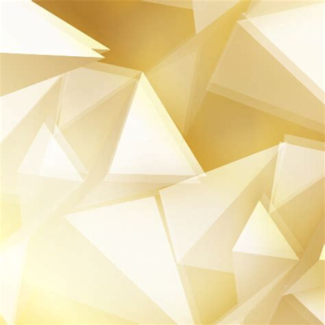 golden triangle abstract background vector 02 free download