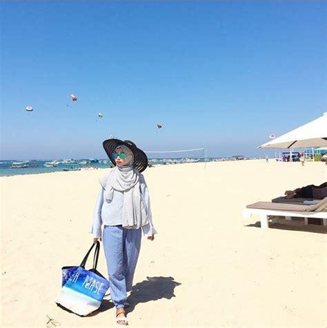 Dress Versi Dian Pelangi fashion ke pantai top tips