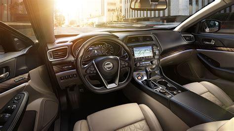 nissan maxima 2016 interior 2016 nissan maxima luxury sedan nissan usa