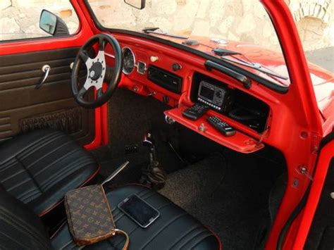 volkswagen beetle modified interior find used vw beetle 1963 california modified 16500