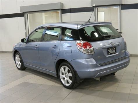 2007 Toyota Matrix Mpg 2007 Toyota Matrix Xr Kelowna Columbia Used Car