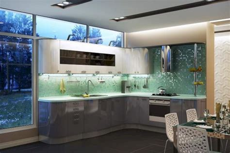 light green kitchen ideas light green modern kitchen designs freshouz