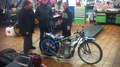 Motorrad Maier Neufinsing besuch bei motorrad legende karl maier
