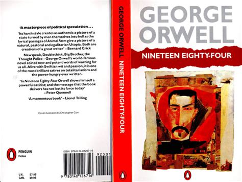1984 nineteen eighty four penguin 97 colin brush it was a bright cold day in april the orwell prize