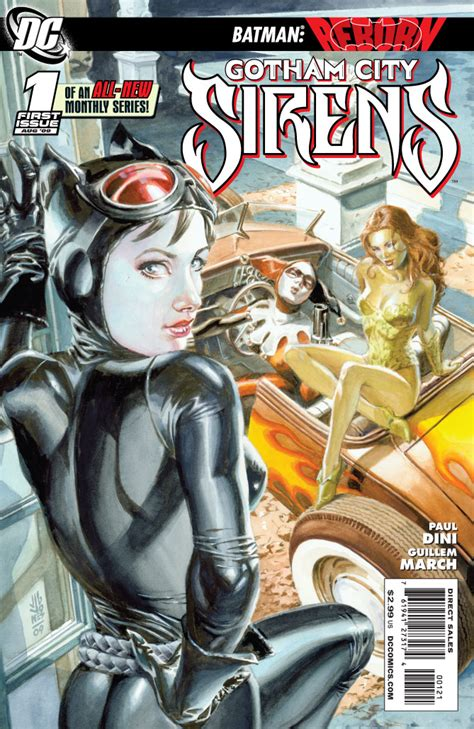 siren in the city sirens book 2 volume 2 gotham city sirens vol 1 1 dc comics database