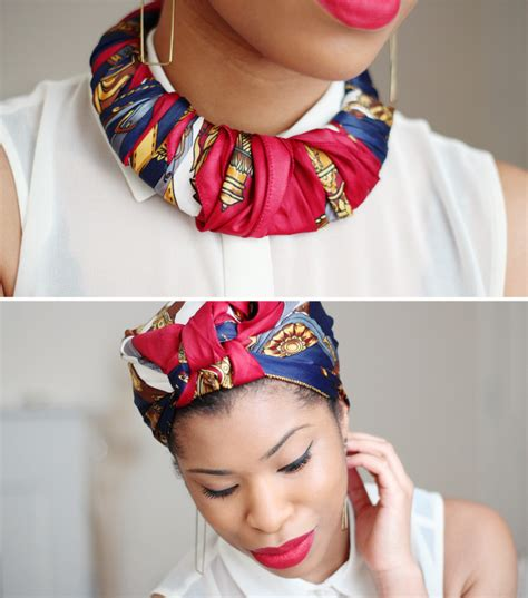 accessories inspiration one scarf many ways sisterlocked