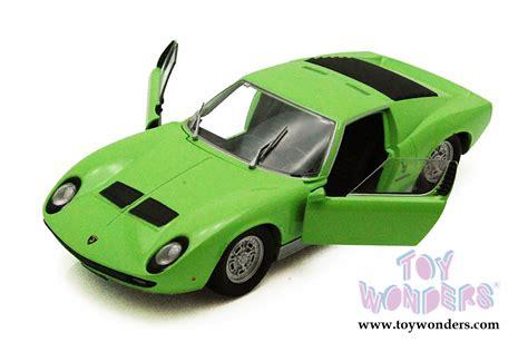 Lamborghini Memorabilia Lamborghini Miura P 400s Top 73368gn 6 1 24 Scale