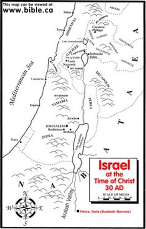 map of israel coloring page