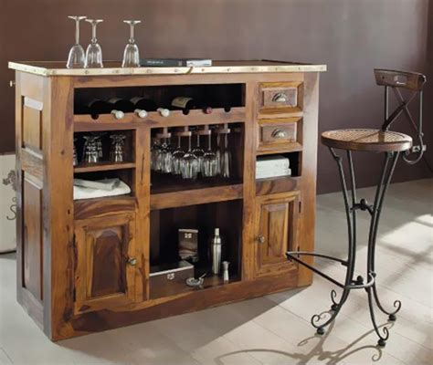 dining room bar cabinet living furniture wooden sheesham hardwood rosewood lifestyle furniture pune and bangalore